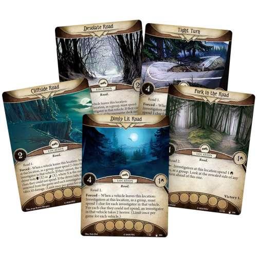 Arkham Horror: The Card Game – Horror in High Gear: Mythos Pack - разширение за настолна игра