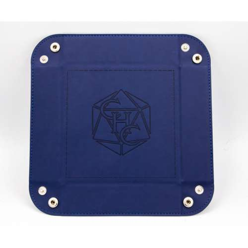Critical Hit Collectibles Square Dice Tray - Blue
