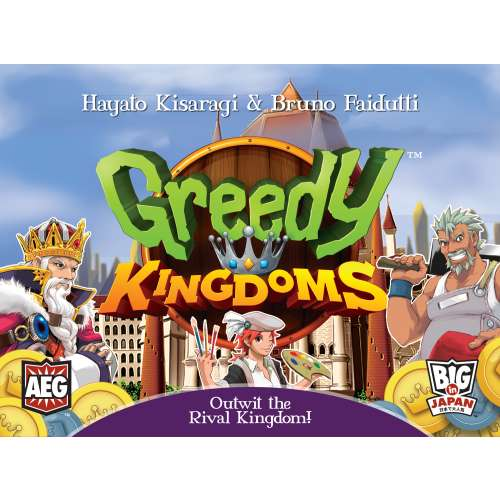 Greedy Kingdoms - настолна игра