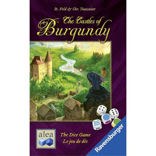 The Castles of Burgundy: The Dice Game - настолна игра