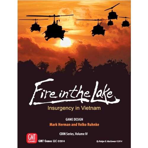 Fire in the Lake - настолна игра
