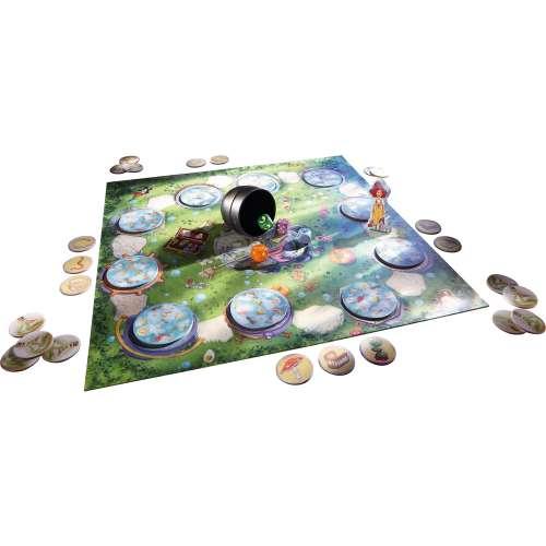 Разсеяната вещица (Clumsy Witch) - настолна игра