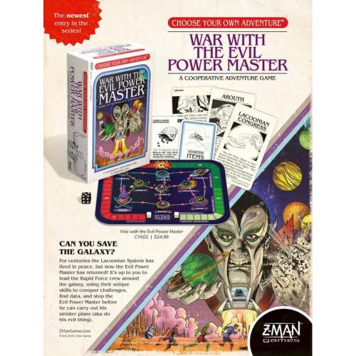 Choose Your Own Adventure: War with the Evil Power Master - настолна игра