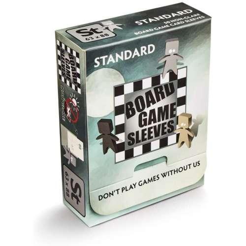 Arcane Tinmen Board Games Sleeves (Clear, Non-Glare) - 63 x 88 mm