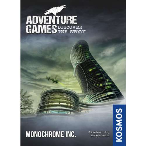 Adventure Games: Monochrome Inc. - настолна игра
