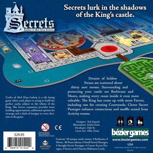 Castles of Mad King Ludwig: Secrets - разширение за настолна игра