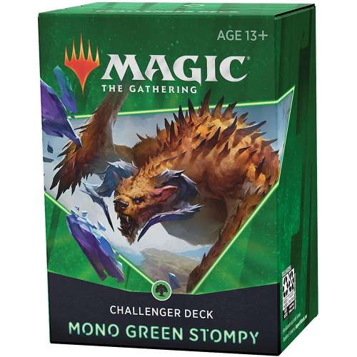 Magic: The Gathering - 2021 Challenger Deck – Mono Green Stompy