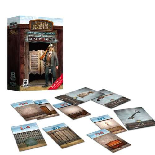 Mystery House: Adventures in a Box – Back to Tombstone - разширение за настолна игра