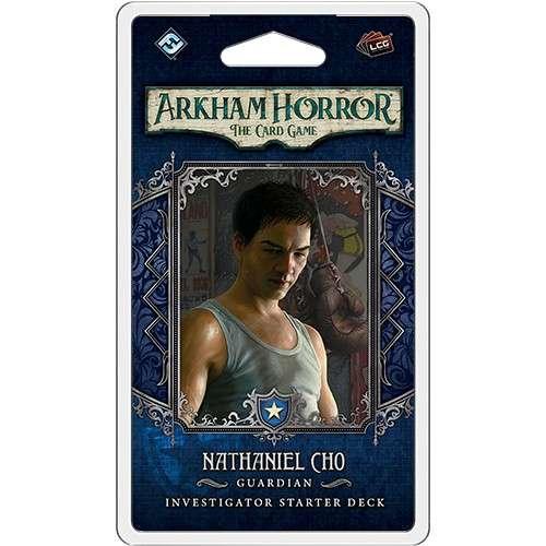 Arkham Horror: The Card Game – Nathaniel Cho: Investigator Starter Deck - разширение за настолна игра