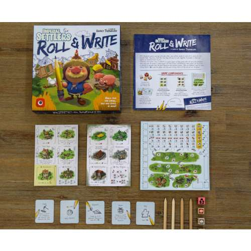 Imperial Settlers: Roll & Write - настолна игра