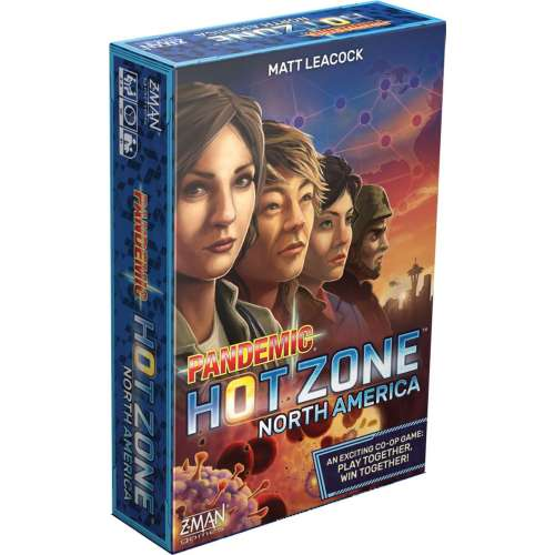 Pandemic: Hot Zone - North America - настолна игра