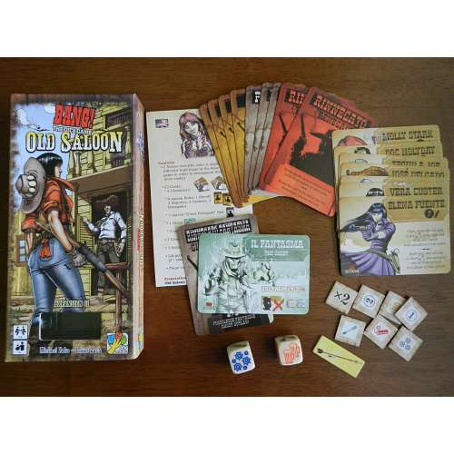 BANG! The Dice Game: Old Saloon - разширение за настолна игра