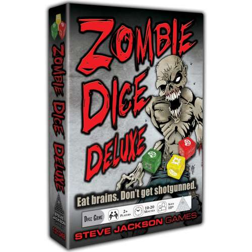 Zombie Dice: 10th Anniversary Deluxe Edition - настолна игра