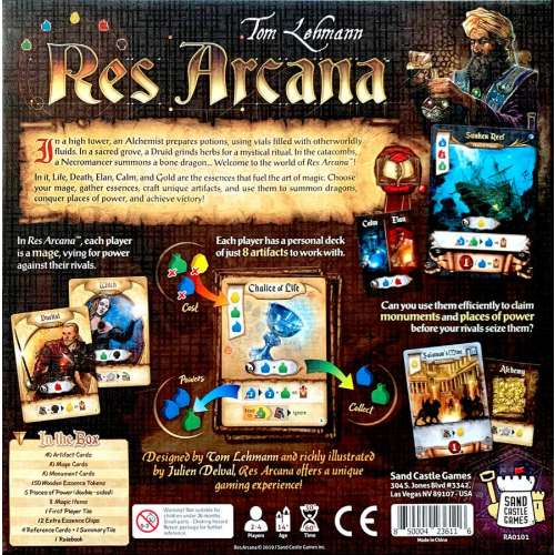 Res Arcana - настолна игра