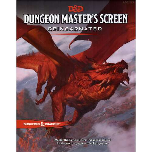 Dungeons & Dragons RPG: Dungeon Master's Screen Reincarnated
