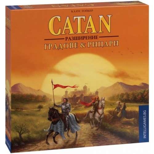 Catan: Градове & Рицари - разширение за настолна игра