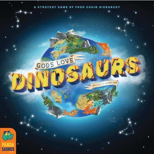 Gods Love Dinosaurs - настолна игра
