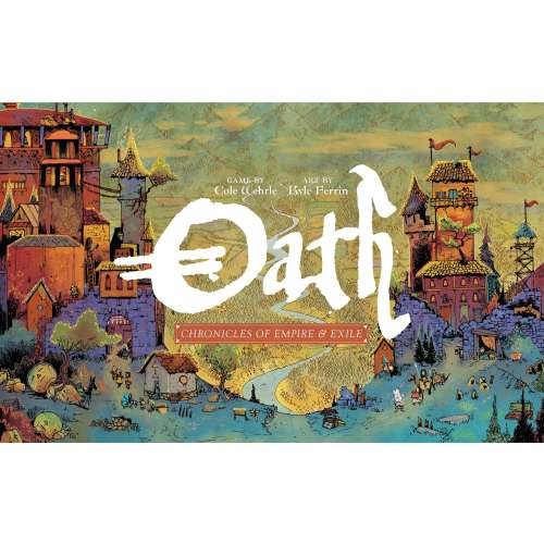 Oath: Chronicles of Empire and Exile - настолна игра