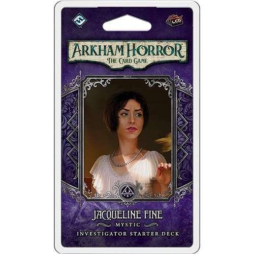 Arkham Horror: The Card Game – Jacqueline Fine: Investigator Starter Deck - разширение за настолна игра