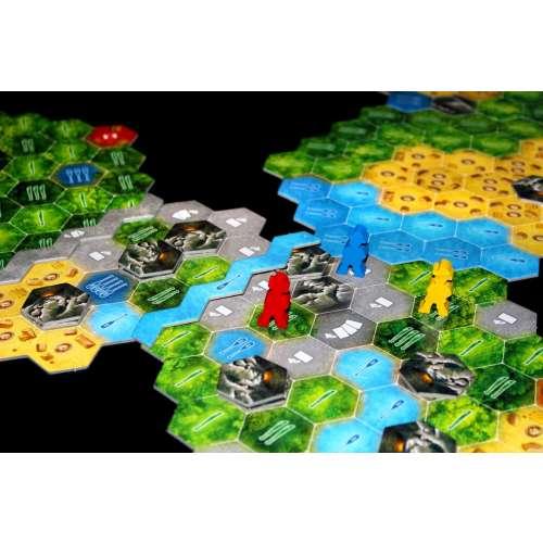 The Quest for El Dorado - настолна игра