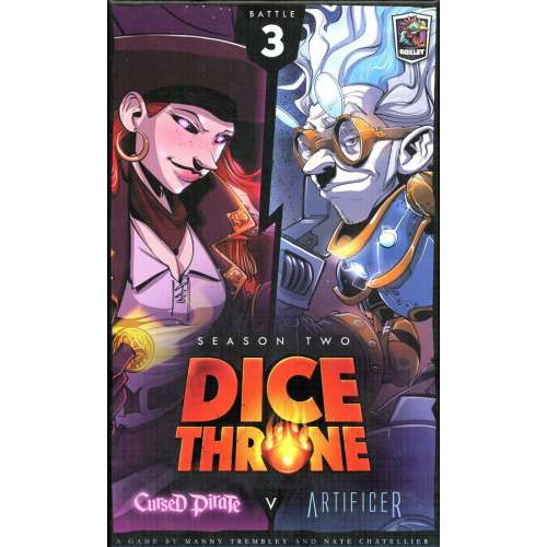 Dice Throne: Season Two – Cursed Pirate v. Artificer - настолна игра