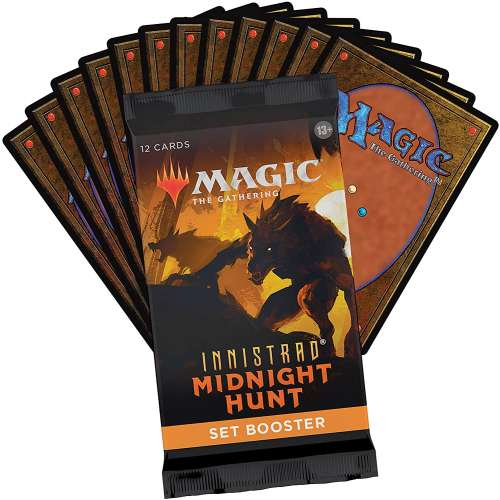 Magic: The Gathering - Innistrad: Midnight Hunt Set Booster