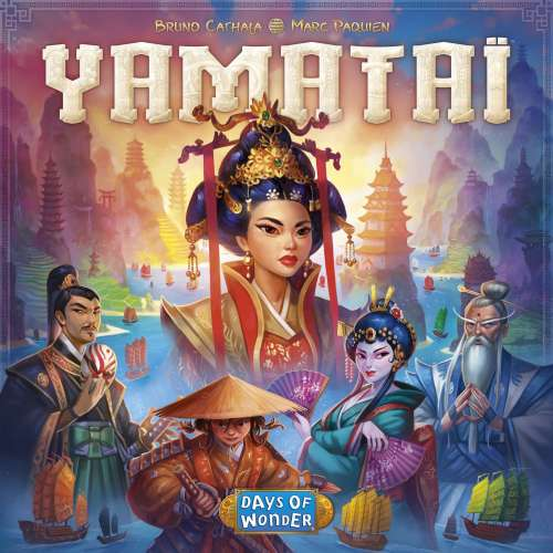 Yamataï - настолна игра