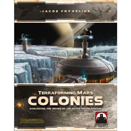 Terraforming Mars: Colonies - разширение за настолна игра