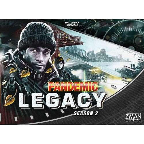 Pandemic Legacy: Season 2 (Black Cover) - настолна игра