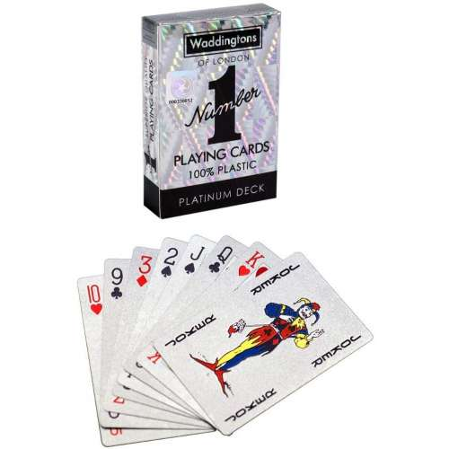 Waddingtons Classic Platinum Number 1 Playing Cards - карти за игра