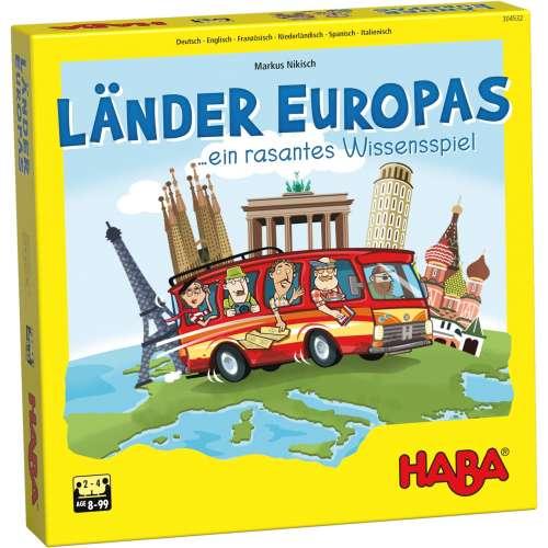 Туристи в Европа - настолна игра