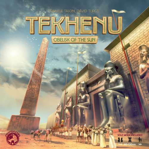 Tekhenu: Obelisk of the Sun - настолна игра