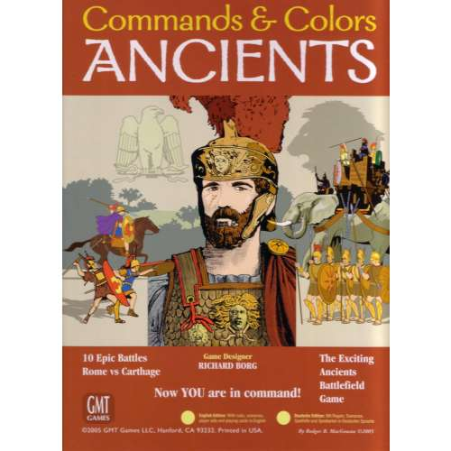 Commands & Colors: Ancients - настолна игра