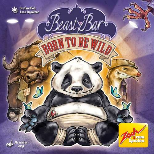 Beasty Bar: Born to Be Wild - настолна игра