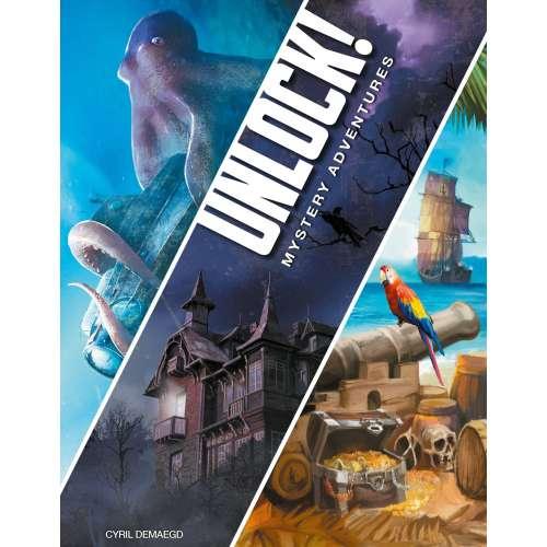 Unlock! Mystery Adventures - настолна игра