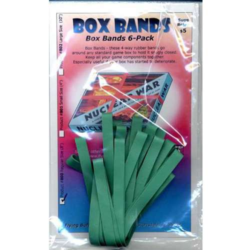 Box Bands: Regular size (Pack of 6)