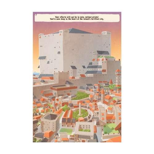 Pirates: The City of Skulls - книга-игра