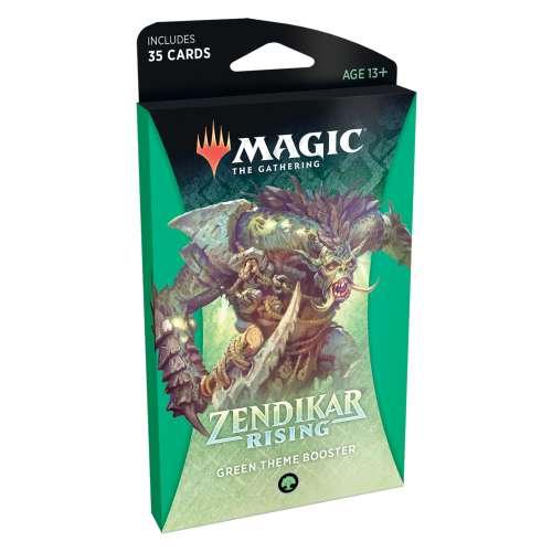 Magic: The Gathering - Zendikar Rising Theme Booster (Green)