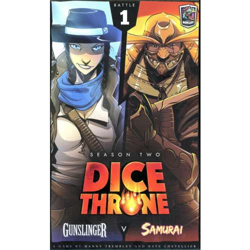 Dice Throne: Season Two – Gunslinger v. Samurai - настолна игра