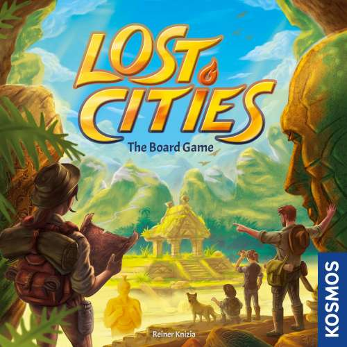 Lost Cities: The Board Game - настолна игра