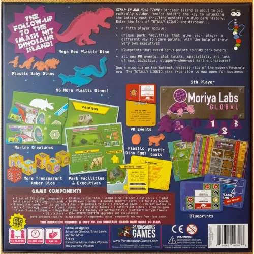 Dinosaur Island: Totally Liquid - разширение за настолна игра