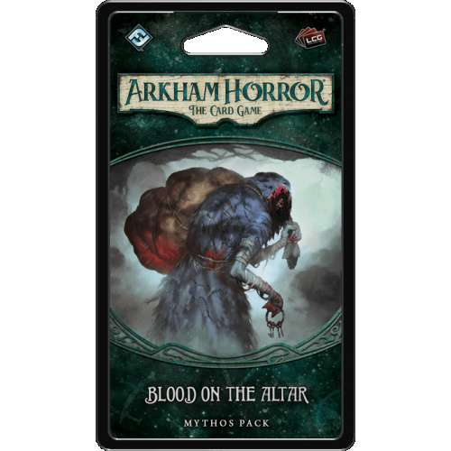 Arkham Horror: The Card Game – Blood on the Altar: Mythos Pack - разширение за настолна игра