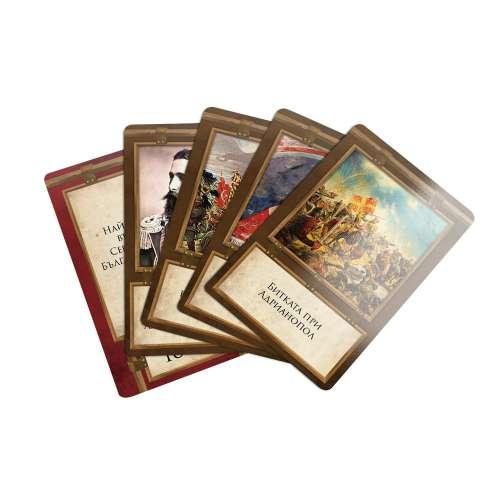 Цар на историята (Пълно издание с бонус тесте) - настолна игра
