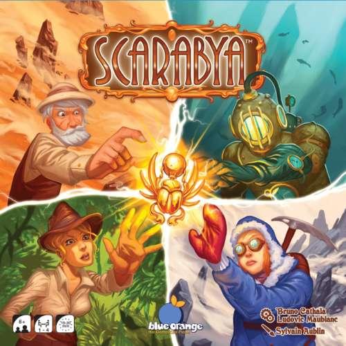 Scarabya - настолна игра