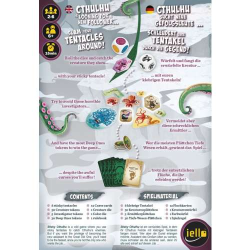 Sticky Cthulhu - настолна игра