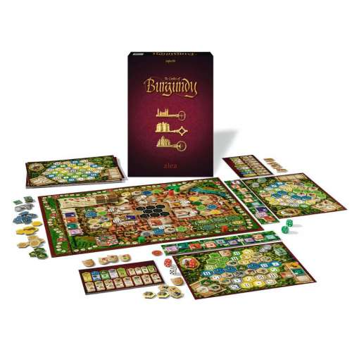 The Castles of Burgundy (20th Anniversary Edition) - настолна игра