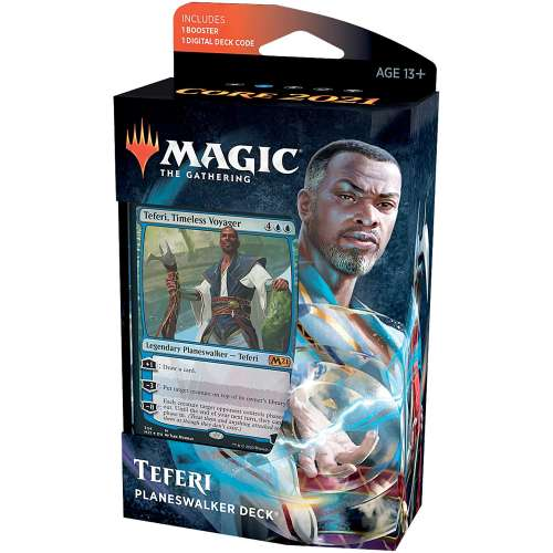Magic: The Gathering - Teferi Timeless Voyager Planeswalker Deck (Core Set 2021)