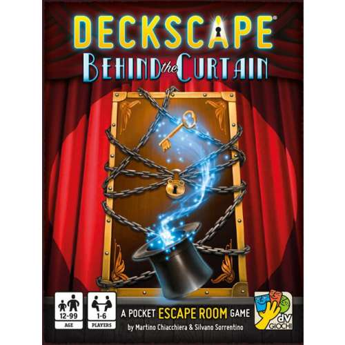 Deckscape: Behind the Curtain - настолна игра