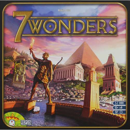 7 Wonders - настолна игра