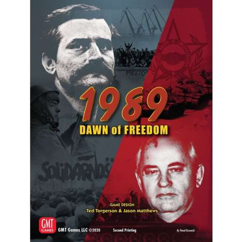 1989: Dawn of Freedom - настолна игра